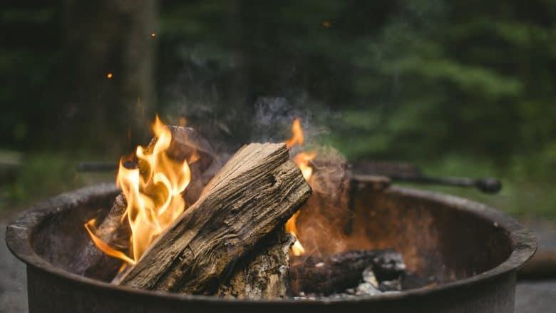 feuerfeste unterlage für feuerschale