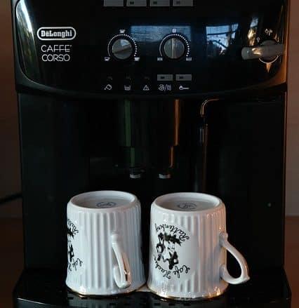 unterlage für kaffeemaschine